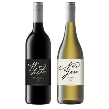 Personalised Wine - Duo Modern