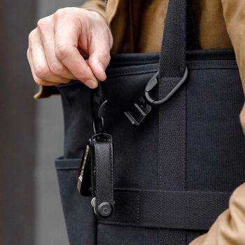 Orbitkey Key Organiser and Clip Bundle Gift Set - Black