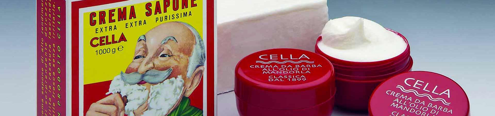 Cella Milano shaving and beard care products