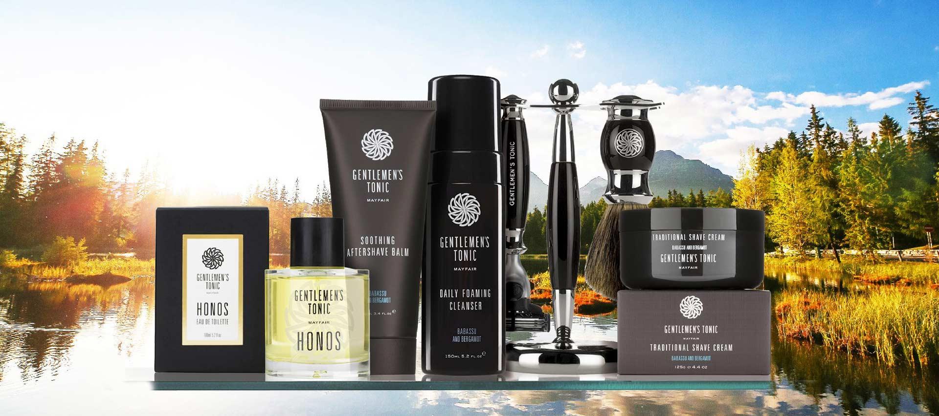 Gentlemen's Tonic grooming products